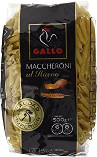 comprar comparacion Pastas Gallo - Maccheroni Huevo Paquete 500 g - , Pack de 6