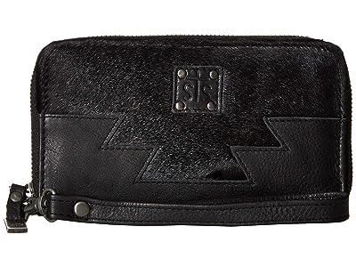 STS Ranchwear Harlow Wristlet (Black) Handbags