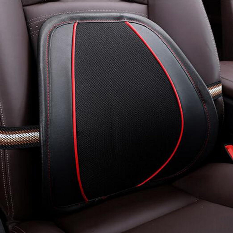 Car Lumbar Cushion Car Back Lumbar Pillow Car Cushion Lumbar Pad Belt Waist Wooden Beads Lumbar Car Seat Lumbar
