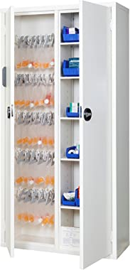 FireKing Electric Medical Storage Cabinet with Electronic Lock 72H x 36W x 15D inches