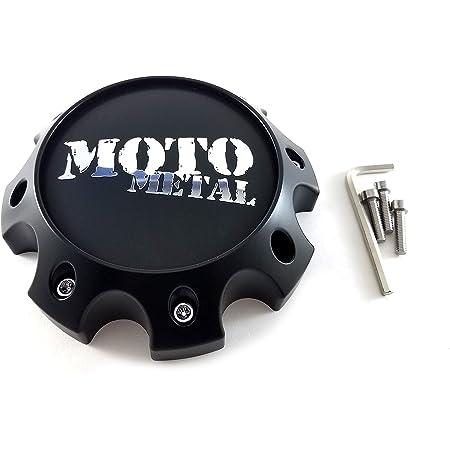 Moto Metal Chrome 8 Lug Short Bolt-On Center Cap for MO963 MO955 Wheels 845L170R