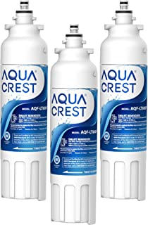 AQUACREST ADQ73613401 Refrigerator Water Filter Replacement for LG LT800P, ADQ73613401, ADQ73613402, ADQ73613408, ADQ75795104, Kenmore 46-9490 (Pack of 3)