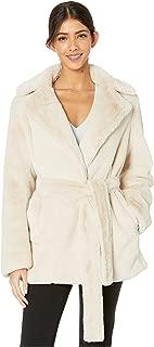 Belted Plush Coat