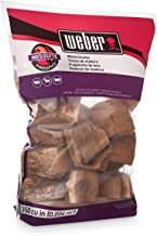 Weber 17150 Mesquite Wood Chunks, 350 cu. in. (0.006 Cubic Meter), 4 lb