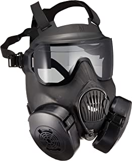 SHENKEL 米軍 新型 M50 ガスマスク フルフェイスゴーグル レンズ2枚 mask-012bk