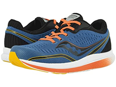 Saucony Kids S-Kinvara 11 (Little Kid/Big Kid) (Seaport Textile) Boys Shoes