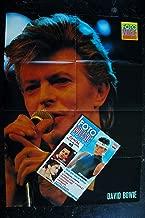 FOTO MUSIC 16 JUILLET 1987 COVER MADONNA NICK KAMEN STEPHANIE DE MONACO + POSTER GEANT DAVID BOWIE