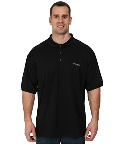 Columbia Big Tall Perfect Casttm Polo (Black) Men