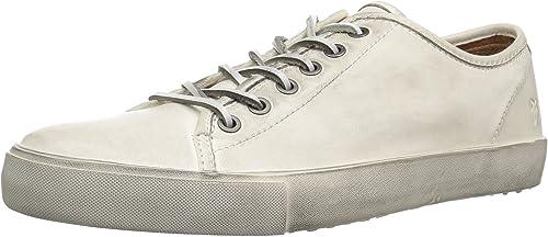 FRYE Hommes's Hommes's Brett Faible Tennis chaussures, blanc, 10 M  envoi gratuit dans le monde entier