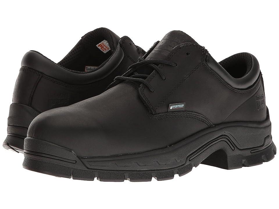 Timberland PRO Stockdale Alloy Safety Toe Waterproof Boot (Black Full-Grain Leather) Men