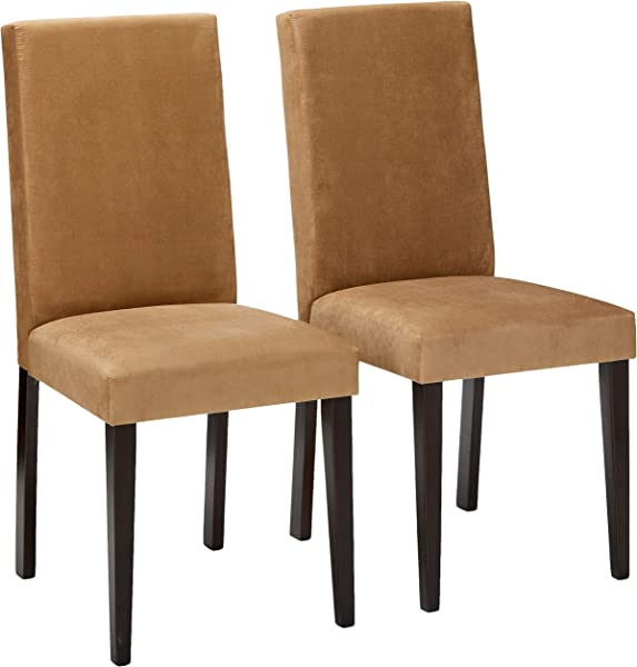 Coaster Microfiber Chairs Cappuccino Set Of 2