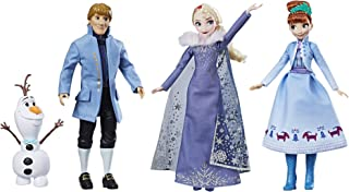 Disney Frozen Festive Friends Collection, Elsa, Anna, Sven and Olaf, Ages 3 and up (Amazon Exclusive)