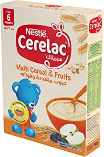Nestlé CERELAC Infant Cereals with iRON+ MULTI CEREAL & FRUITS Carton 240g