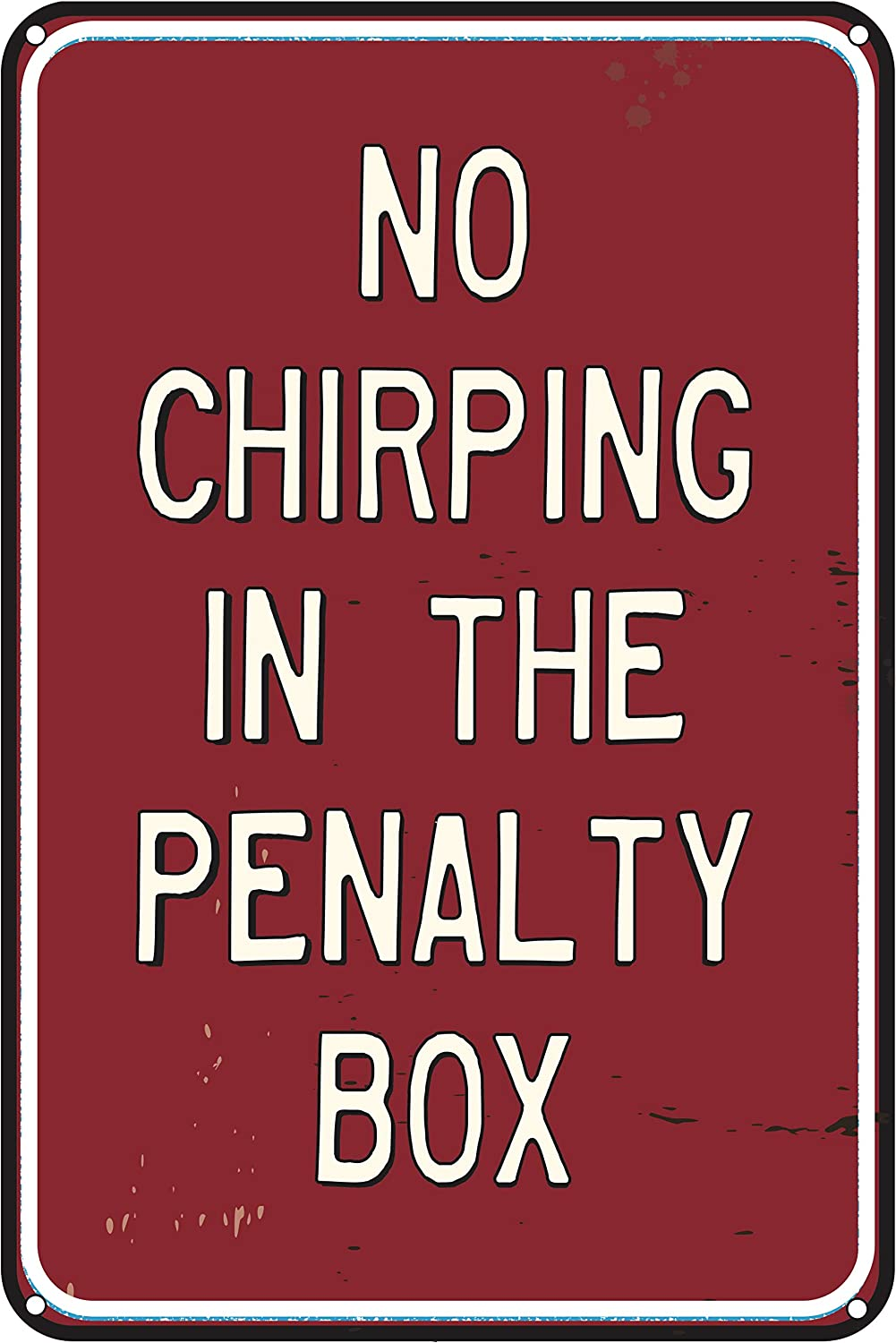 Toothsome Studios No Chirping in The Penalty Box 12