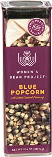 Women's Bean Project Blue Popcorn with Salted Caramel Seasoning, 20 Cups, 10.6 Ounce