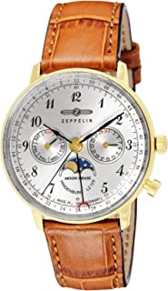 [ツェッペリン]ZEPPELIN 腕時計 Hindenburg シルバー文字盤 7039-1 メンズ 【並行輸入品】