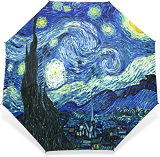 LiFei Business Funny Cat Starry Pizza Eat Beautiful Gorgeous UV Mens Umbrella Umbrella Custom Umbrella Senior Custom