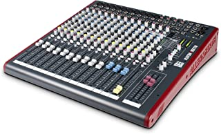 Allen & Heath ZED-16FX 16-Channel Multi-Purpose USB Mixer with FX for Live Sound and Recording (Renewed)