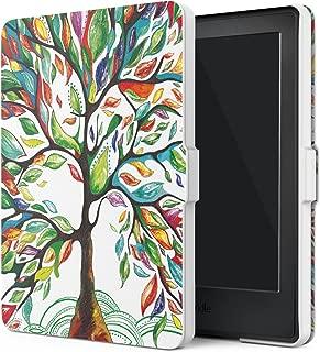 MoKo Funda para Kindle 8th Generación - Funda de SmartShell Más Delgada y Ligera con Auto Sueño/Estela - Lucky Álbo (No es Compatible con el kinlde Paperwhite)