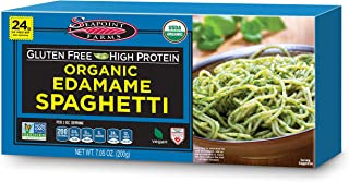 Seapoint Farms Organic Edamame Spaghetti, Healthy Gluten-Free Noodles, 12-Pack