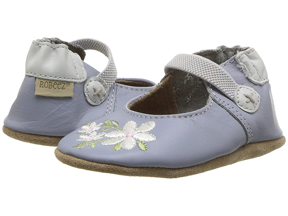 Robeez Pretty in Blue Soft Sole (Infant/Toddler) (Twilight Blue) Girl