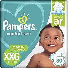 Fralda Pampers Confort Sec Mega, XXG, 30 unidades