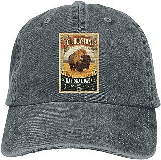 New Baseball Cap Yellowstone National Park Casquette Asphalt Adjustable Trucker Hat