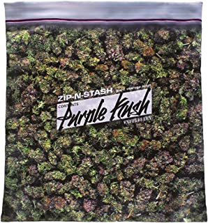 steelplant Purple Kush Stash - Baggie of Cannabis Weed Pillowcase