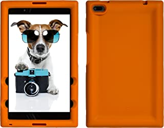 BobjGear Bobj Rugged Tablet Case for Lenovo Tab 4 8 (TB-8504F) Kid Friendly (Outrageous Orange)