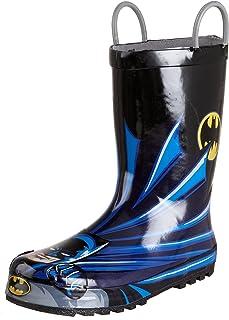 Western Chief Kids Baby Boy's Batman Everlasting Rain Boot (Toddler/Little Kid/Big Kid)