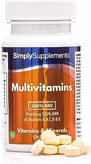 Multivitaminas (100% VRN) con Vitamina C en altas dosis - ¡