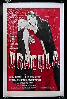 vintage dracula movie posters