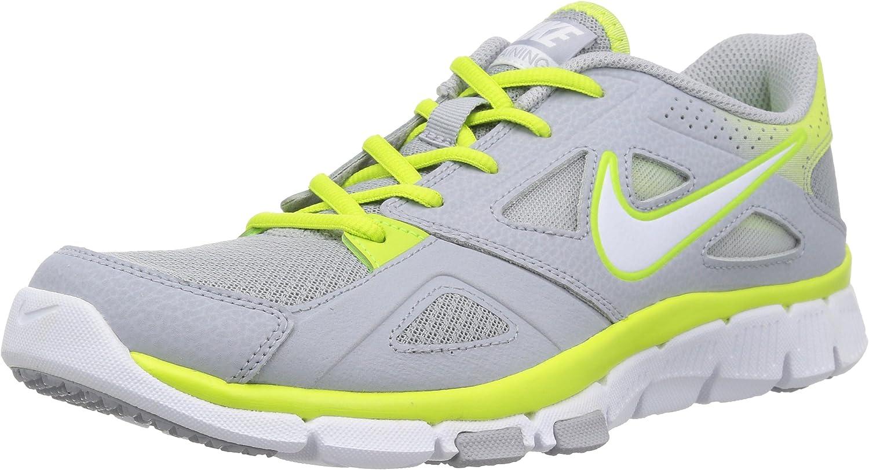 Nike Mens Flex Supreme TR 2 Running shoes Wolf Grey White Volt