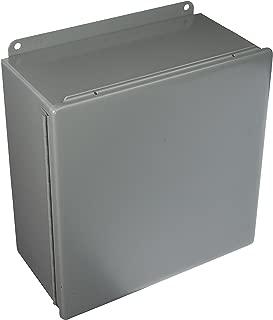 Junc Box Encl, MTLC, 12In.Hx 12In.Wx6In.D