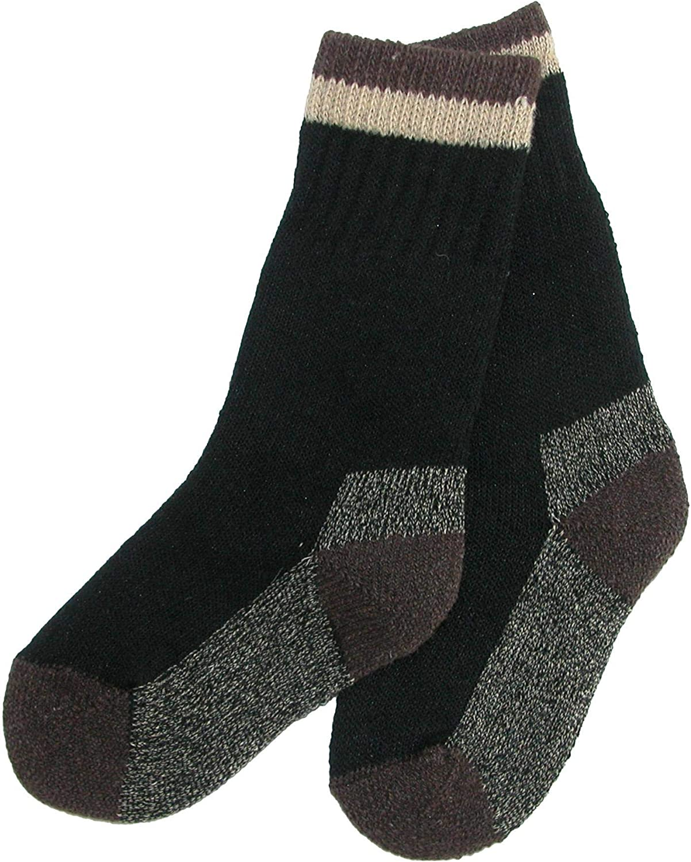 2 Pair Pack New Clear Creek Boy/'s Wool Hiking Socks