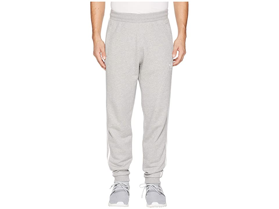 Image of adidas Originals 3-Stripes Pants (Medium Grey Heather) Men's Casual Pants