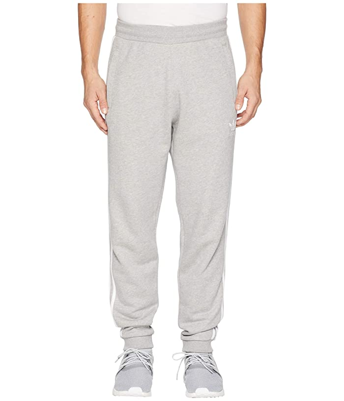adidas Originals  3-Stripes Pants (Medium Grey Heather 2) Mens Casual Pants