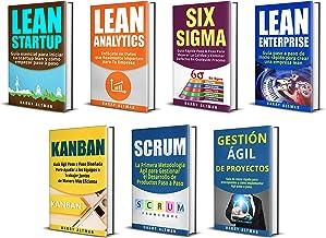 LEAN: 7 Libros - Lean Startup, Lean Analytics, Lean Enterprise, Six Sigma, Gestión Ágil de Proyectos, Kanban, Scrum