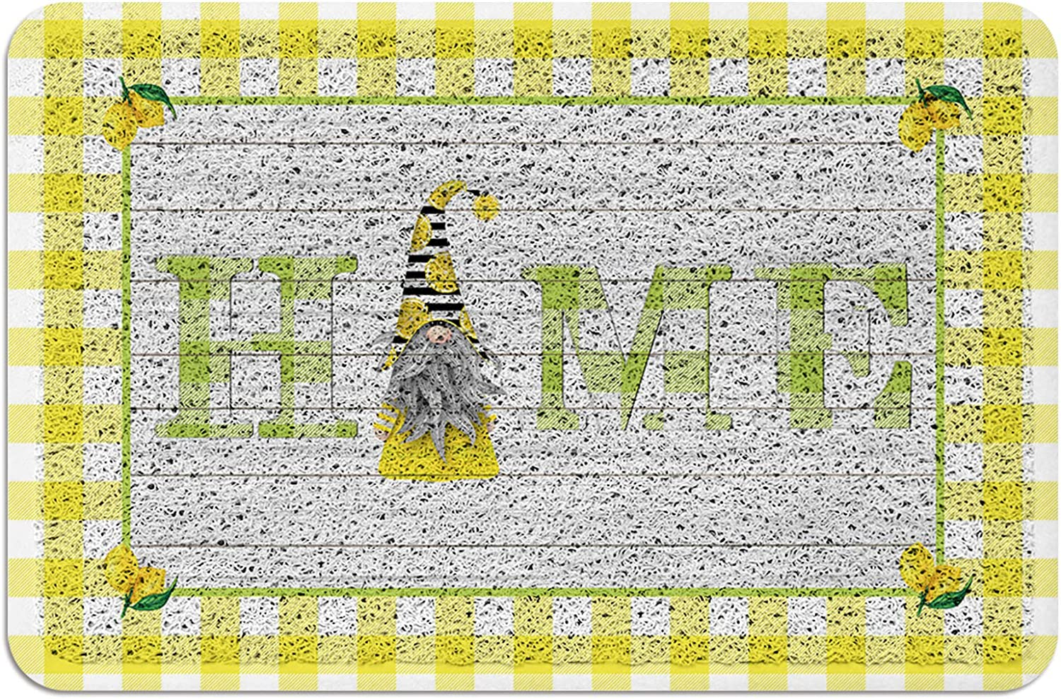 Doormat Absorbent PVC Shoes Scraper Fresh Max Limited Special Price 81% OFF Gnomes Home Lemons and