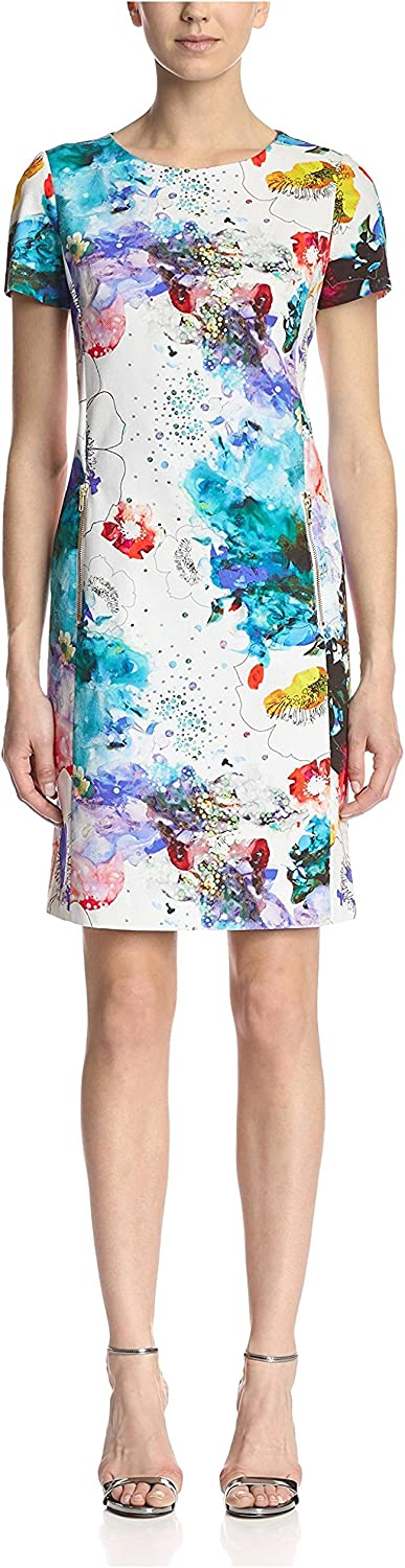 Bigio womens not applicable Printed Shift Dress