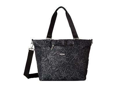 Baggallini Legacy Avenue Tote (Midnight Blossom) Tote Handbags