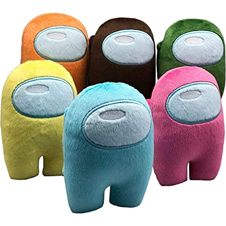 Sugafize Among Us Plush Toy Soft Merch Crewmate Plushies Cute Astronaut Stuffed Plush Figures for Gifts Game Fans Group 3