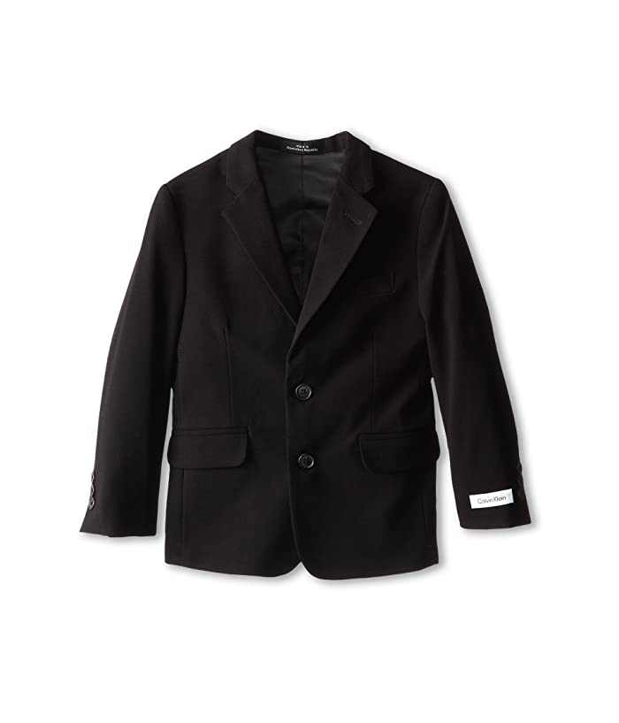 Suit Jacket (Little Kids) (Black) Boy's Jacket