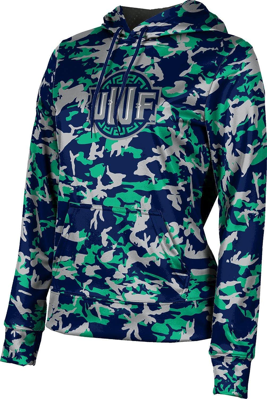 ProSphere University of West Florida Girls' Pullover Hoodie, School Spirit Sweatshirt (Camo)