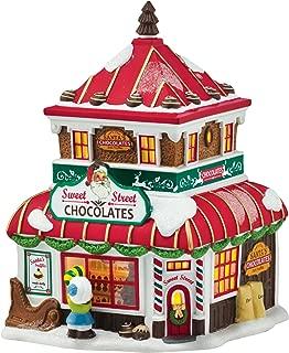 Department 56 by Enesco North Pole Village Christmas' Sweets Porcelain Lit House