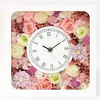 Lulu's ルルズ 花時計 ローズピンク プリザーブドフラワー サイズ:幅22cm長さ8cm高さ22cm ローズピンク Lulu's-1217