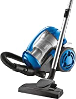 BLACK+DECKER Multi-Cyclonic Bagless Corded Canister Vacuum Cleaner with 6 Stage Filtration, 2000 W Max Power, 1.8 L,...