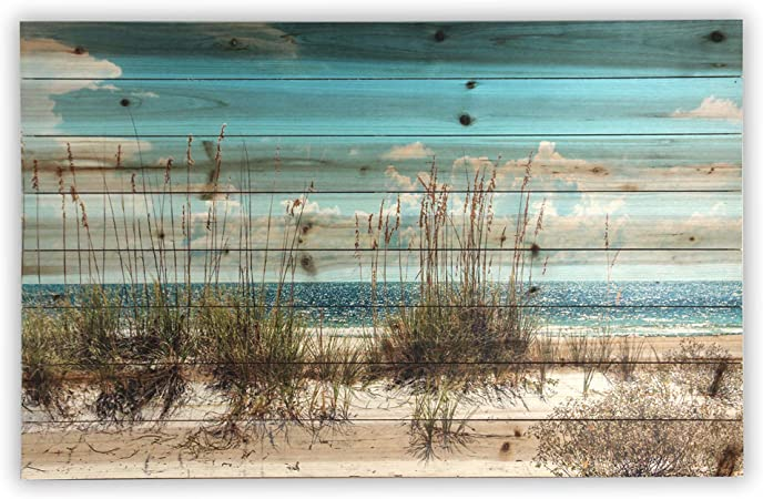 Sand Dunes Art Print On Solid Planked Wood 24x36x1 2 Inches By Gallery 57 Posters Prints