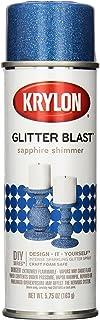 Sponsored Ad - Krylon K03814A00 Glitter Blast Glitter Spray Paint for Craft Projects, Sapphire Shimmer Blue, 5.75 oz