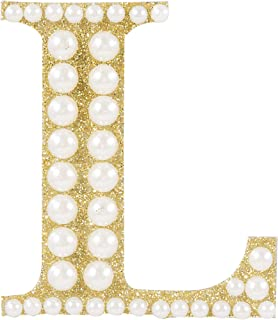 Darice 30053618 Letter L Sticker, Gold